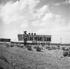 Las Vegas Club billboard 4-7-1953